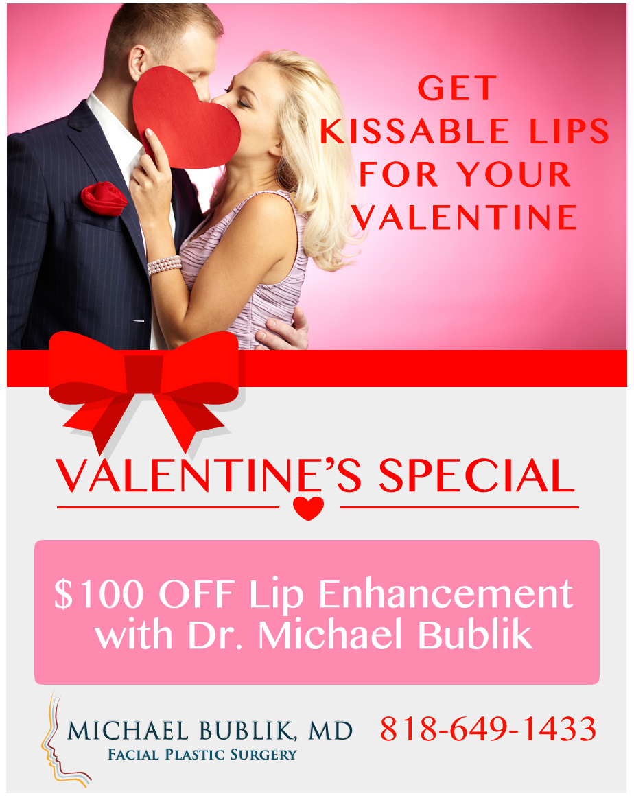 Get Kissable Lips with $100 Off Lip Enhancement