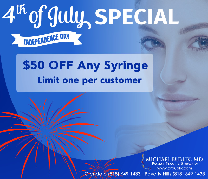 July Special Andy Syringe $50 OFF Glendale, Beverly Hills
